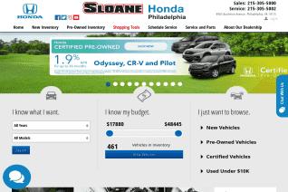Sloane Honda reviews and complaints