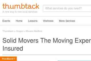 SOLID MOVERS LLC reviews and complaints