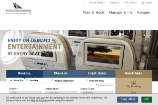 South African Airways reviews and complaints