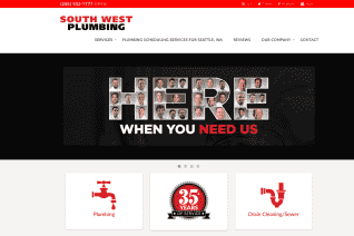 South West Plumbing of Seattle reviews and complaints