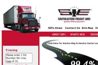 Southeastern Freight Lines reviews and complaints