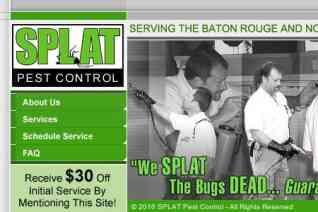 Splat Pest Control reviews and complaints
