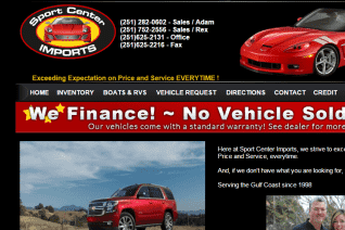 Sport Center Imports reviews and complaints