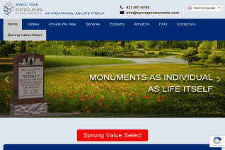 Sprung Monuments reviews and complaints
