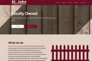St Johns Fence Company reviews and complaints