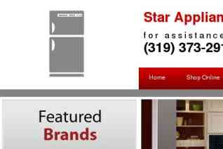 Star Appliance reviews and complaints