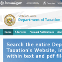 State Of Hawaii Department Of Taxation reviews and complaints