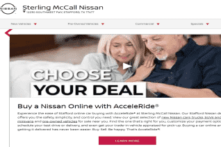 Sterling Mccall Nissan reviews and complaints