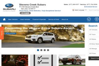 Stevens Creek Subaru reviews and complaints