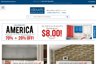 Steves Blinds And Wallpaper reviews and complaints