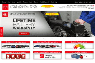 Stone Mountain Toyota reviews and complaints