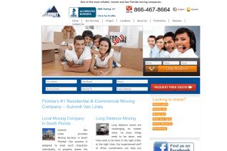 Summit Van Lines reviews and complaints