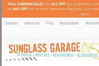 Sunglass Garage reviews and complaints
