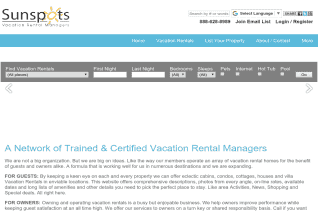 Sunspot Vacation Rental Network reviews and complaints