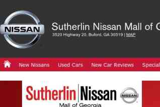 Sutherlin Nissan Mall of Georgia reviews and complaints