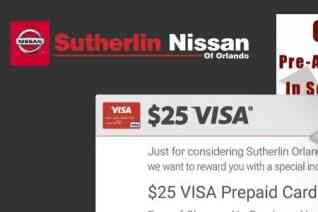 Sutherlin Nissan of Orlando reviews and complaints