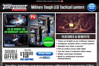 Tac Light Lantern reviews and complaints