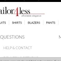 Tailor4less reviews and complaints