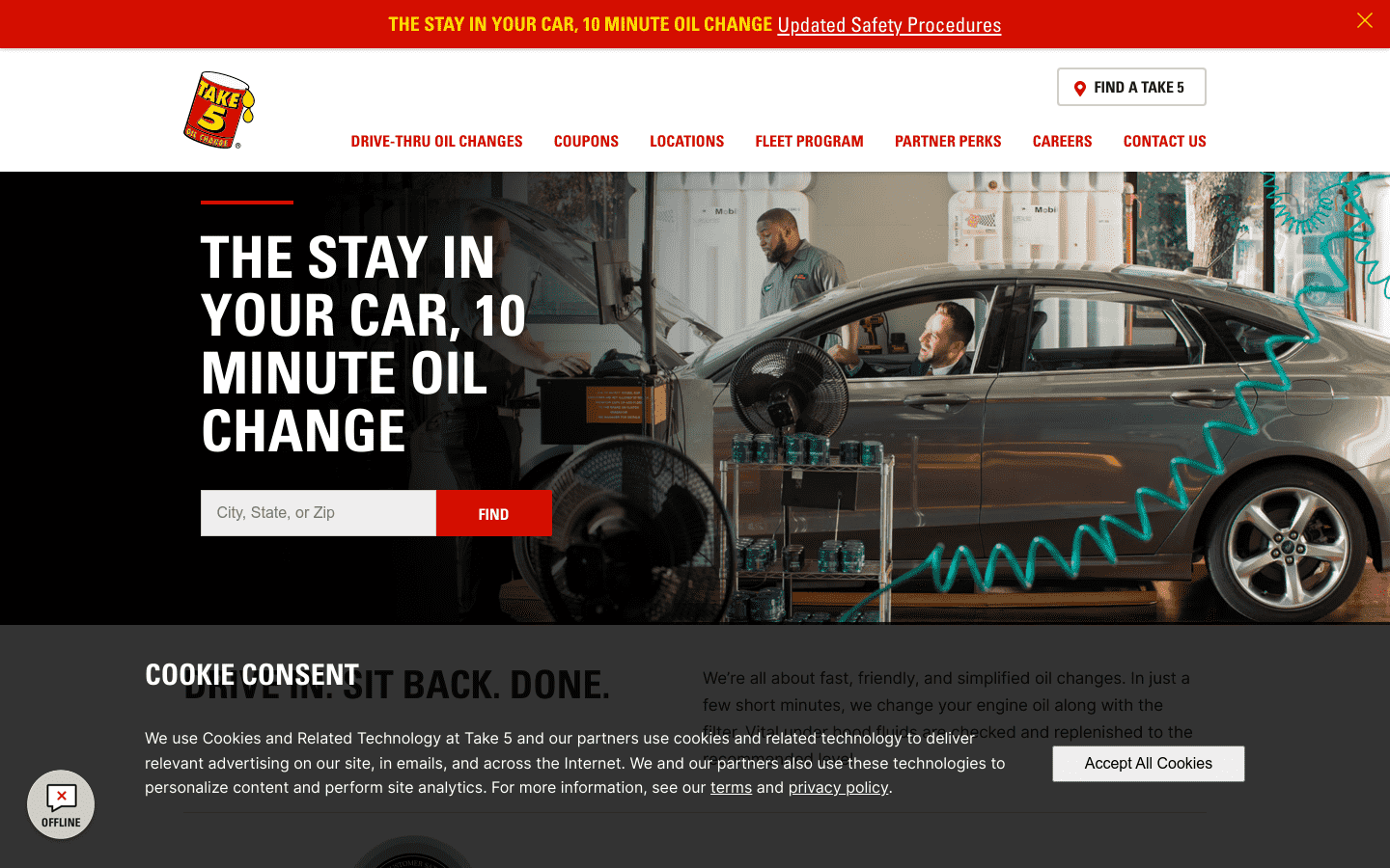 Take 5 Oil Change reviews and complaints