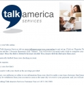 Talk America Services reviews and complaints