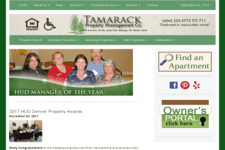 Tamarack Property Management Company reviews and complaints