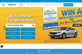 Tampa Honda reviews and complaints