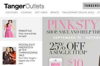Tanger Outlet reviews and complaints