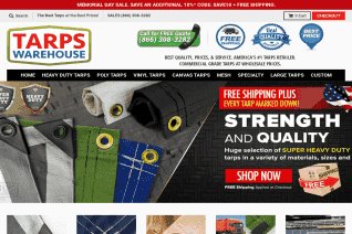 Tarps Warehouse reviews and complaints