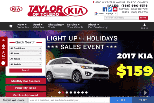 Taylor Kia Of Toledo reviews and complaints
