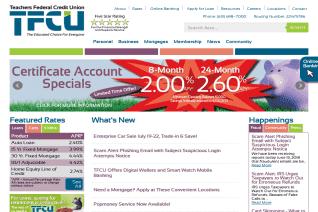 Teachers Federal Credit Union reviews and complaints