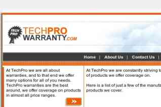 TechPro Warranty reviews and complaints