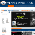 Tennis Warehouse reviews and complaints