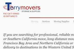 Terry Moving and Storage reviews and complaints