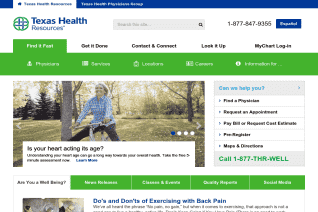 Texas Health Resources reviews and complaints