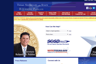 Texas Secretary Of State reviews and complaints