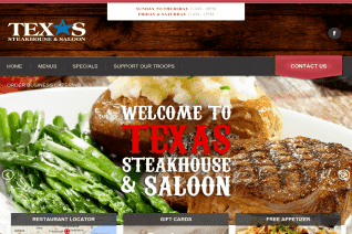 Texas Steakhouse and Saloon reviews and complaints