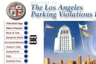The Los Angeles Parking Violation Bureau reviews and complaints