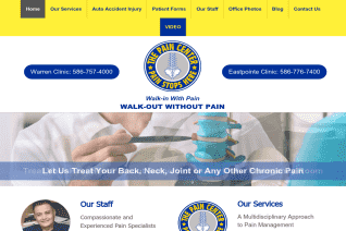 The Pain Center Usa reviews and complaints