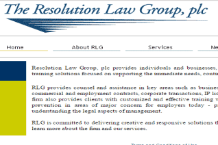 The Resolution Law Group reviews and complaints