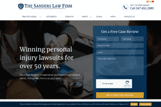 The Sanders Law Firm reviews and complaints