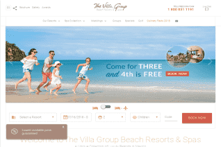 The Villa Group Beach Resorts And Spas reviews and complaints