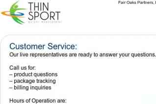 Thin Sport reviews and complaints