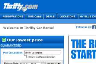 Thrifty Car Rental reviews and complaints
