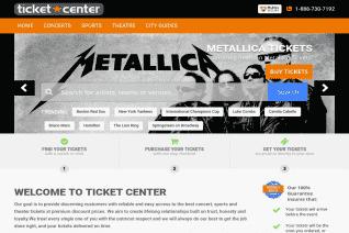 TicketCenter Com reviews and complaints