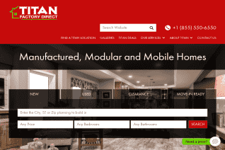 Titan Factory Direct reviews and complaints