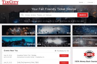 TixCity reviews and complaints