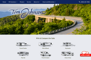 Tom Johnson Camping Center reviews and complaints