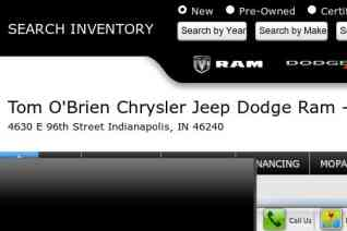 Tom OBrien Chrysler Jeep reviews and complaints