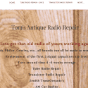 Toms Antique Radio Repair