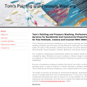 Toms Painting And Pressure Wash